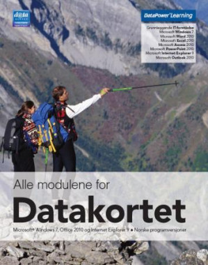 Alle modulene for Datakortet
