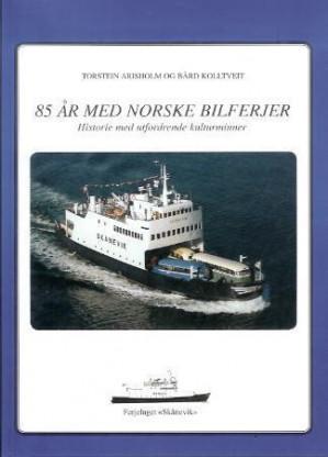 85 år med norske bilferjer